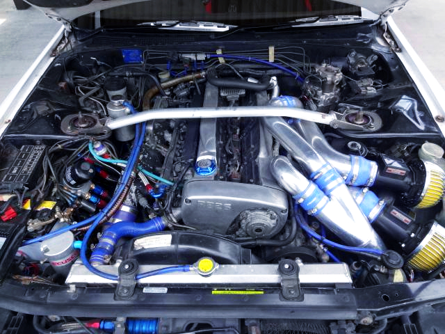 RB26DETT with HKS GT2530 TWIN TURBO.