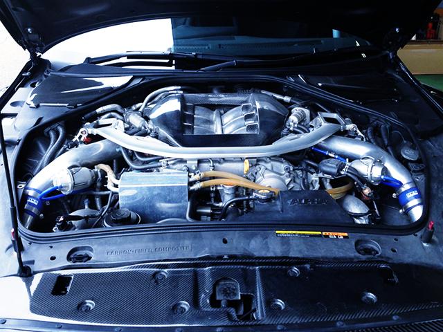 VR38 With HKS GT1000 FULL TURBINE KIT.