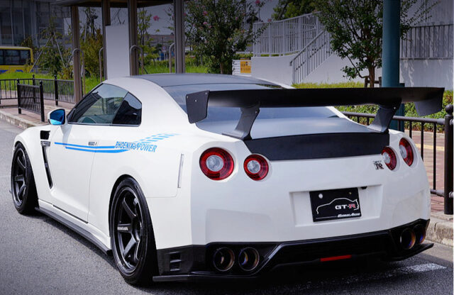 REAR EXTERIOR OF R35 GT-R PURE EDITION.