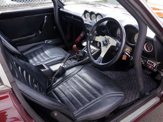 DRIVER'S SIDE INTERIOR of 240ZG