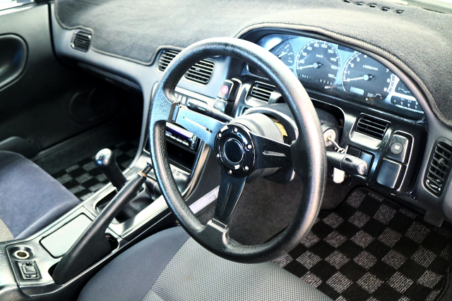 DASHBOARD and STEERING of 180SX.