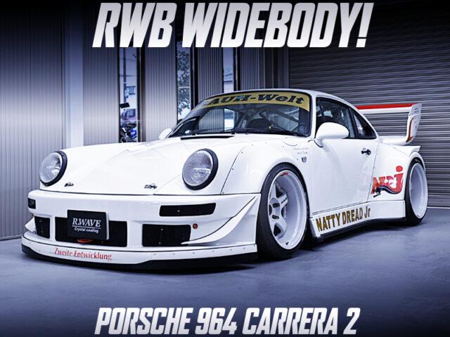 RWB WIDEBODY of PORSCHE 964 CARRERA 2.