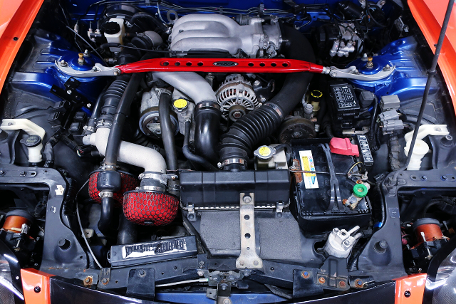 13BREW ROTAY SEQUENTIAL TWIN TURBO ENGINE.