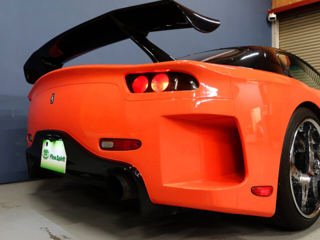 REAR TAIL LIGHT OF VeilSide RX7 FORTUNE.