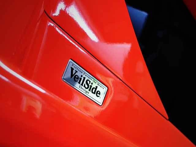 VeilSide PLATE of RX7 FORTUNE BODY KIT.