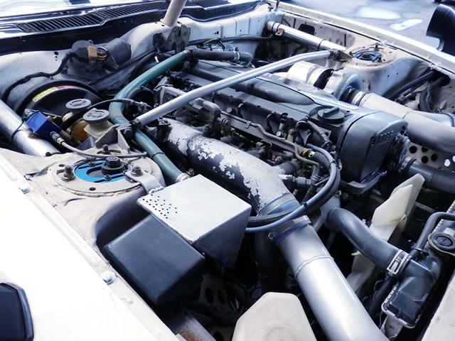 RB26 SINGLE TURBO ENGINE.