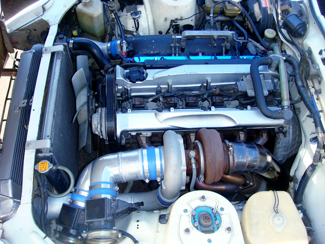 RB26 with GREDDY T88-34D SINGLE TURBO.