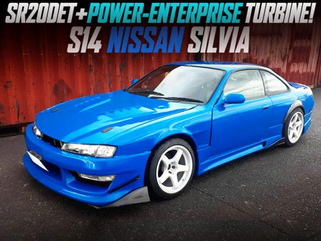 POWER-ENTERPRISE TURBOCHARGED S14 SILVIA.