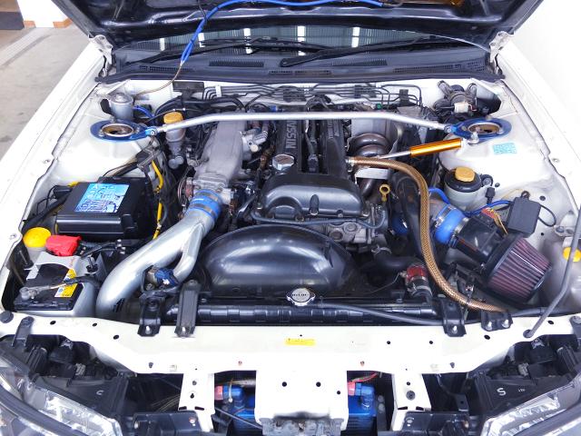 SR20DET TURBO ENGINE with TRUST TURBINE.