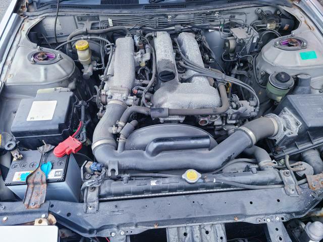 SR20DE 2000cc NATURALLY ASPIRATED ENGINE.