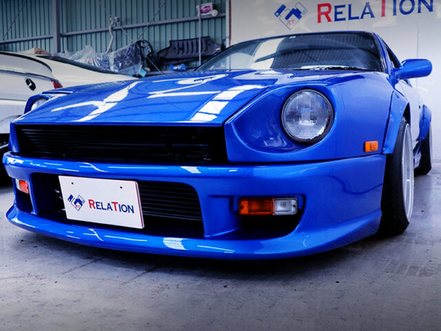 FRONT EXTERIOR OF S30Z FACE 180SX.