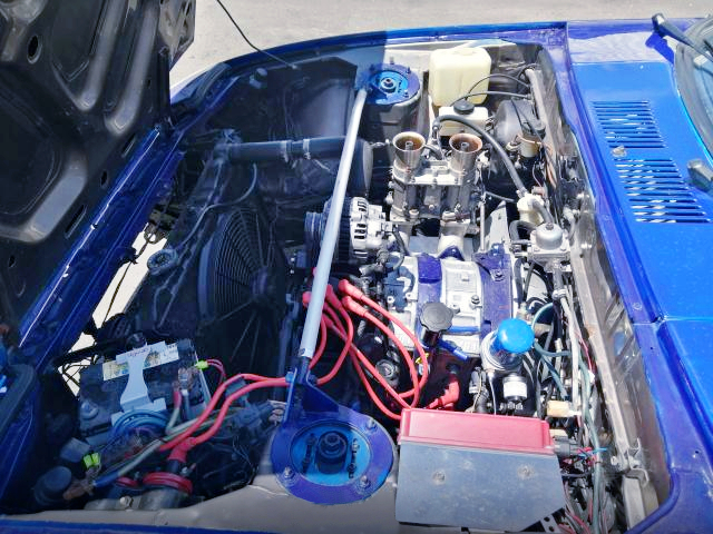 13B PERIPHERAL PORT ENGINE.