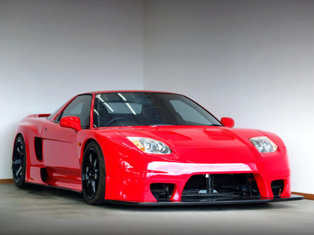 FRONT EXTERIOR of NA1 NSX SORCERY WIDEBODY.