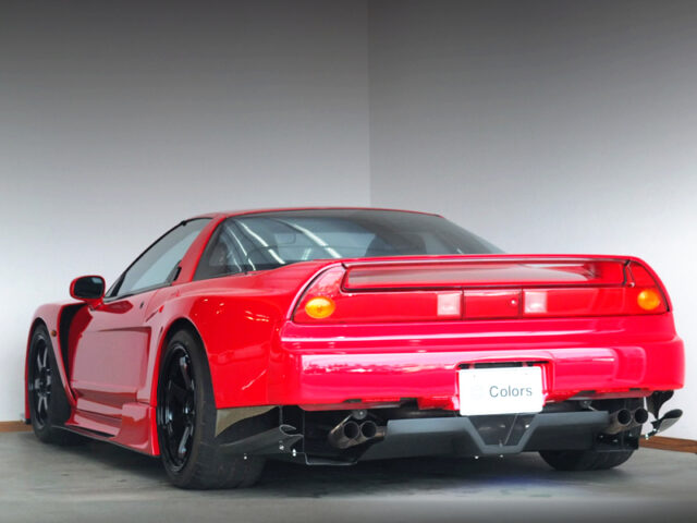REAR EXTERIOR of NA1 NSX SORCERY WIDEBODY.