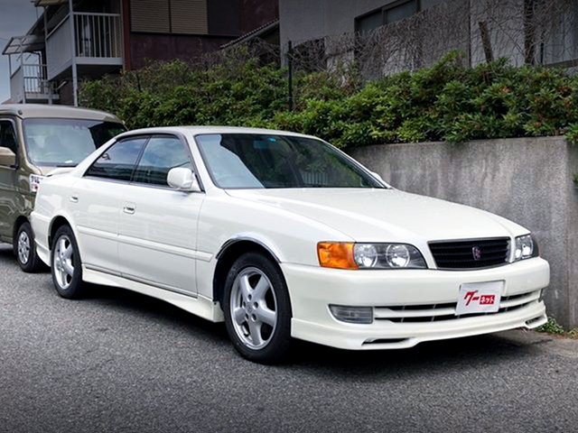 FRONT EXTERIOR of JZX100 CHASER TOURER-S EXCITING PKG.