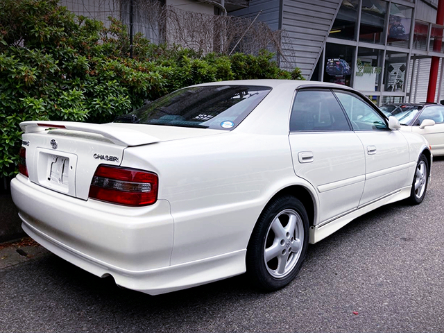 REAR EXTERIOR of JZX100 CHASER TOURER-S EXCITING PKG.