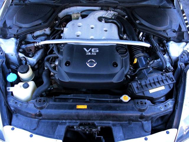 NATURALLY ASPIRATED VQ35DE 3500cc ENGINE.
