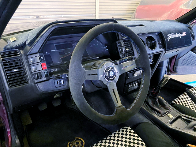 LEFT HAND DRIVE INTERIOR of Z31 NISSAN 300ZX.