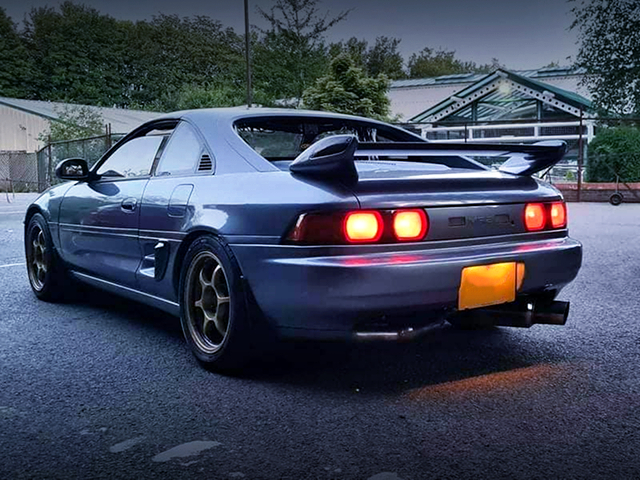 REAR EXTERIOR of SW20 MR2.