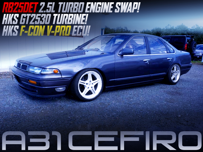 GT2530 TURBOCHARGED RB25DET SWAPPEED A31 CEFIRO.
