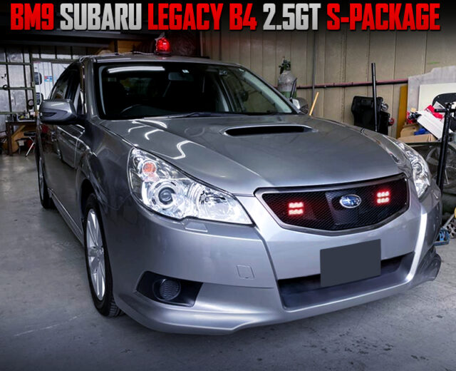 JAPANESE Unmarked Police Car REPLICA MODIFIED BM9 LEGACY B4 2.5GT S-PACKAGE..