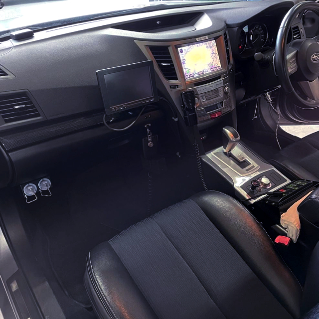 INTERIOR of BM9 LEGACY B4 2.5GT S-PACKAGE.