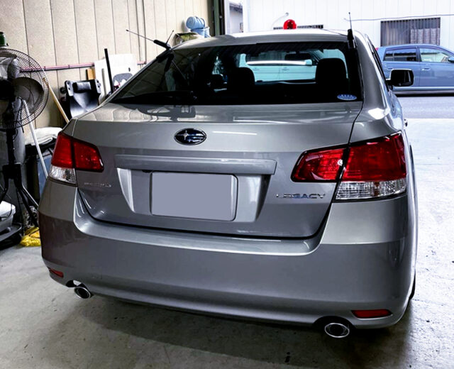 REAR EXTERIOR of BM9 LEGACY B4 2.5GT S-PACKAGE.