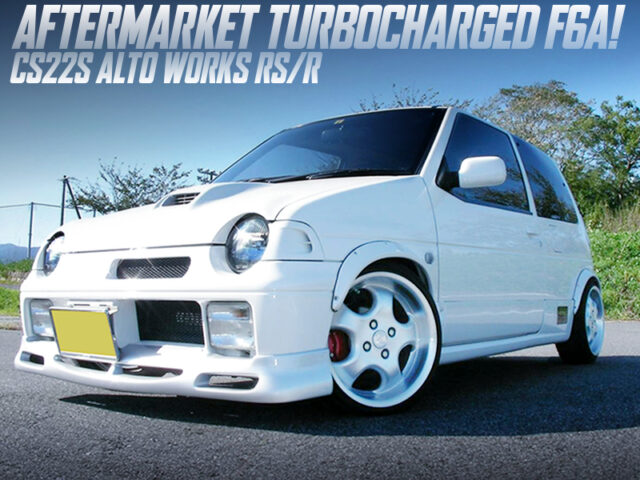 AFTERMARKET TURBOCHARGED F6A into CS22S ALTO WORKS RSR.