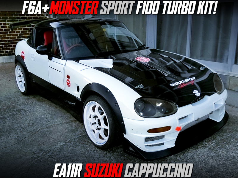 F6A With MONSTER SPORT F100 TURBO KIT into EA11R CAPPUCCINO.