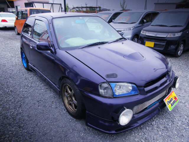 FRONT EXTERIOR of EP91 STARLET GLANZA S.