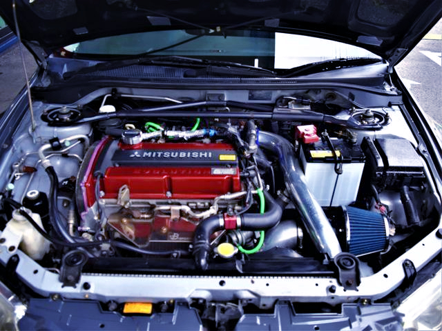 G-FROCE 4G63 COMPLETE ENGINE with HKS GT3 TURBO.