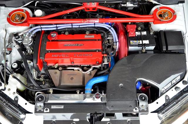 MONSTER SPORT MX390B 2.2L COMPLETE ENGINE.