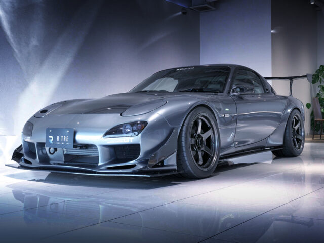 FRONT EXTERIOR of FD3S RX-7 SPIRIT-R TYPE-A.