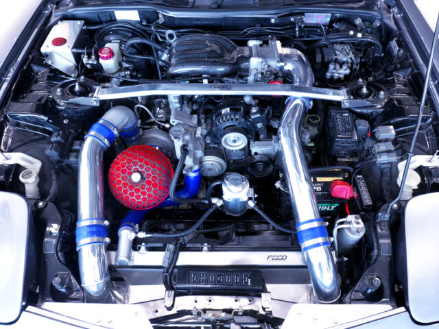 FEED SPEC-V 13BREW COMPLETE ENGINE with TO4S-BB SINGLE TURBO.