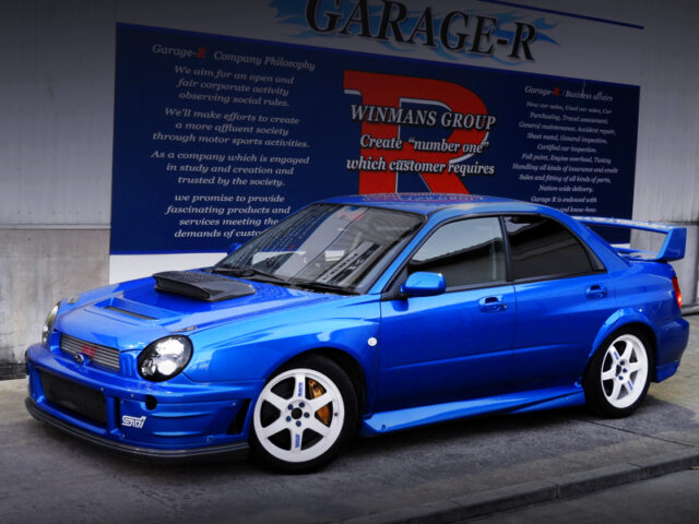 FRONT EXTERIOR of GDB BUGEYE WRX STi LIMITED.