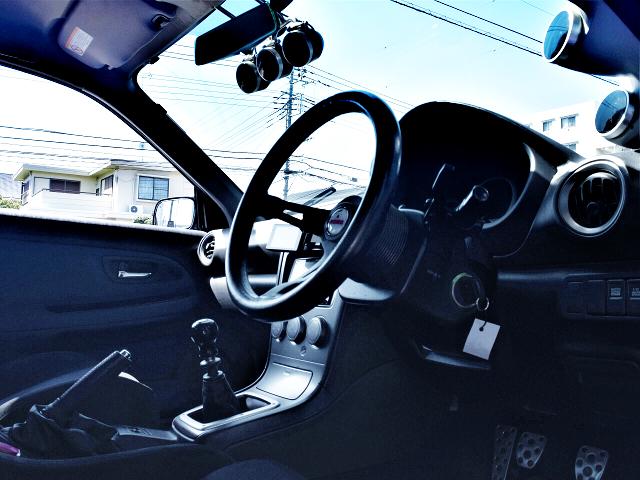 DRIVER'S DASHBOARD of GDB HAWKEYE WRX STI INTERIOR.