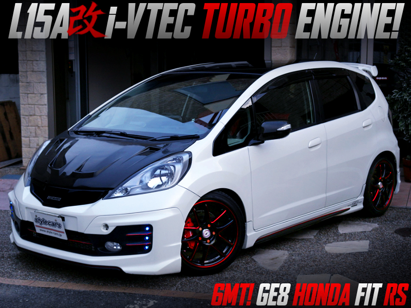 TURBOCHARGED L15A i-VTEC ENGINE into GE8 FIT RS.