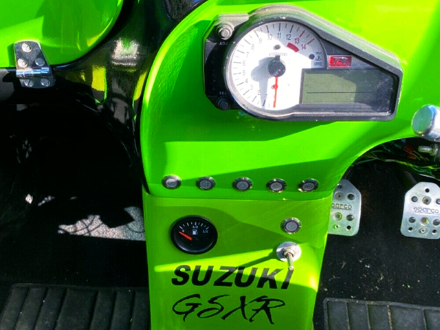 GSX-R SPEED CLUSTER.
