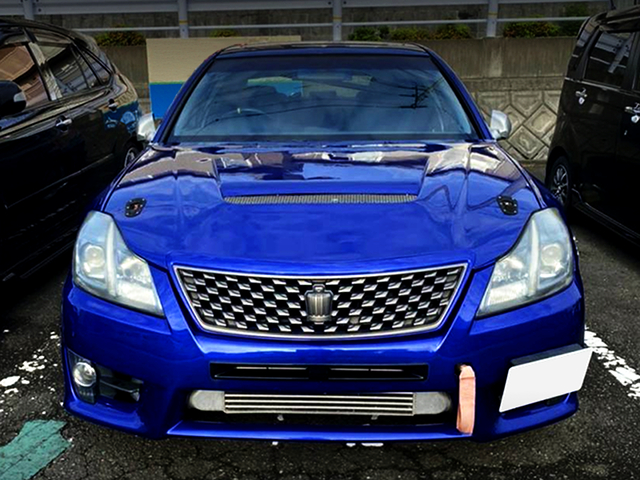 200 CROWN FRONT END CONVERSION on JZS161 ARISTO.