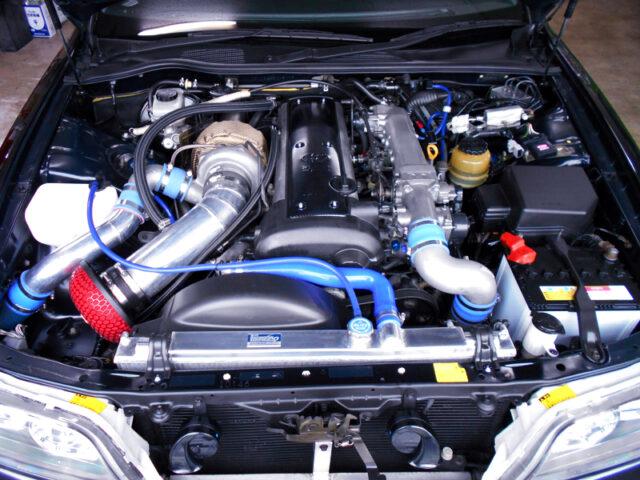 1.5JZ 3.0L ENGINE with GT3540 SINGLE TURBO.