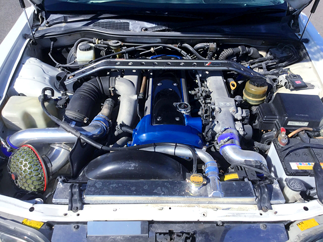 VVT-i 1JZ-GTE TURBO ENGINE with HKS GT-PRO TURBINE.
