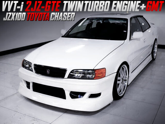 2JZ-GTE ENGINE and 6MT SWAPPED JZX100 CHASER.