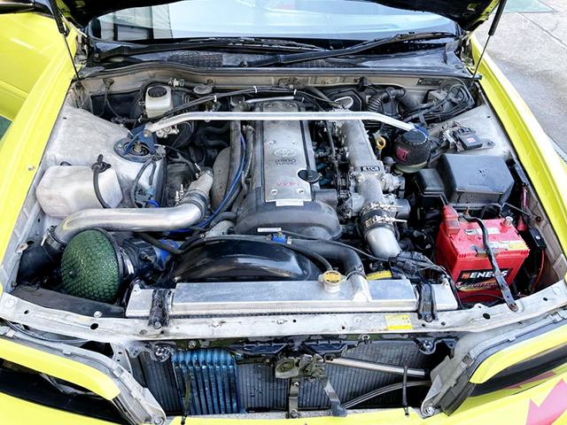 VVTi 1JZ-GTE ENGINE with GT3-RS TURBINE.