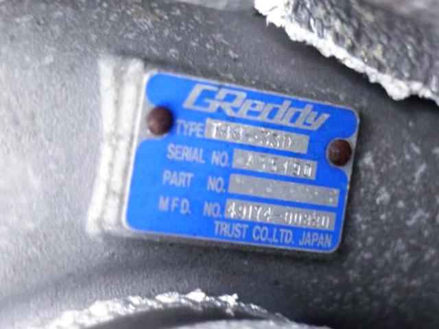 GREDDY T88-33D TURBOCHARGER.