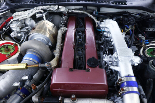 1.5JZ 3.0L ENGINE with T78SINGLE TURBO