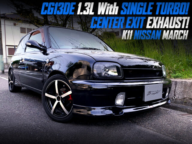 CG13DE 1.3L With TURBO into K11 NISSAN MARCH.
