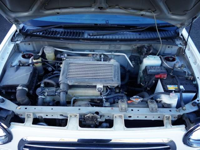 JB-DET 660cc INLINE-FOUR TURBO ENGINE..