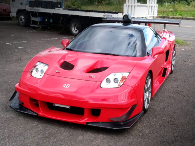FRONT EXTERIOR of NA1 ACURA NSX WIDEBODY.