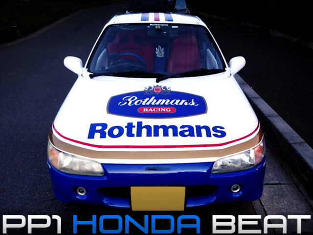 ROTHMANS MODIFIED PP1 HONDA BEAT.