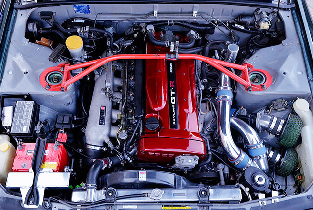 RB26DETT ENGINE with R34 N1 TWIN TURBO.
